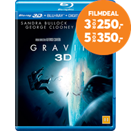 Produktbilde for Gravity (Blu-ray 3D + Blu-ray)