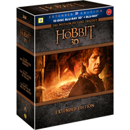 Hobbiten Trilogien - Extended Edition (Blu-ray 3D + Blu-ray)