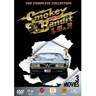 Smokey & The Bandit 1 - 3 (DK-import) (DVD)