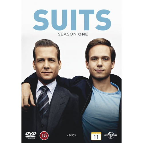 Suits - Sesong 1 (DVD)