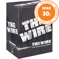 Produktbilde for The Wire - Den Komplette Serien (DVD)