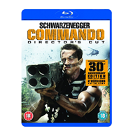 Commando - Director's Cut (UK-import) (BLU-RAY)