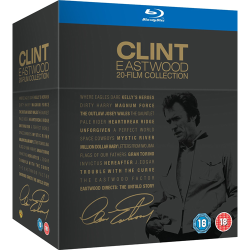 Clint Eastwood 20-Film Collection (UK-import) (BLU-RAY)