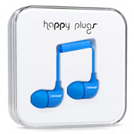 Happy Plugs - In-Ear Blue (HEADSET)