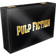 Pulp Fiction  - 20th Anniversary Deluxe Box (UK-import) (BLU-RAY)