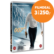 Produktbilde for James Bond - For Your Eyes Only (DVD)