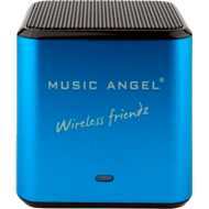 Music Angel Wireless Friendz Blue - Oppladbar Minihøyttaler (HØYTTALER)