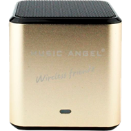 Music Angel Wireless Friendz Gold - Oppladbar Minihøyttaler (HØYTTALER)