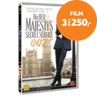 Produktbilde for James Bond - On Her Majesty's Secret Service (DVD)