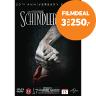 Produktbilde for Schindlers Liste - 20th Anniversary Edition (DVD)
