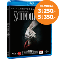 Produktbilde for Schindlers Liste - 20th Anniversary Edition (DK-import) (BLU-RAY)