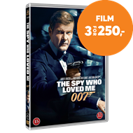 Produktbilde for James Bond - The Spy Who Loved Me (DVD)