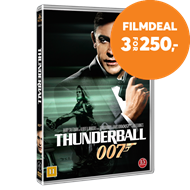 Produktbilde for James Bond - Thunderball (DVD)