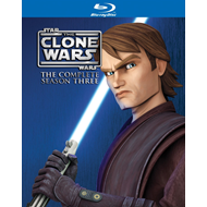Star Wars - The Clone Wars - Sesong 3 (UK-import) (BLU-RAY)