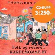 Produktbilde for Folk Og Røvere I Kardemomme By (CD)