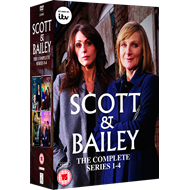 Scott & Bailey - The Complete Series (UK-import) (DVD)