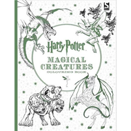 Harry Potter Magical Creatures Colouring Book (BOK)