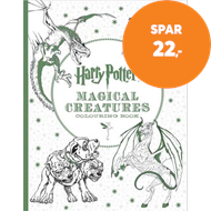 Produktbilde for Harry Potter Magical Creatures Colouring Book (BOK)