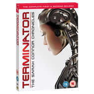 Terminator: The Sarah Connor Chronicles - Sesong 1 & 2 (UK-import) (DVD)