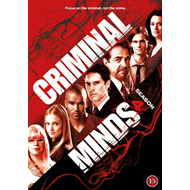 Criminal Minds - Sesong 4 (DVD)