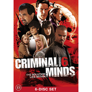 Criminal Minds - Sesong 6 (UK-import) (DVD)