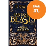 Produktbilde for Fantastic Beasts and Where to Find Them - The Original Screenplay (BOK)