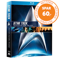 Produktbilde for Star Trek - The Motion Picture Trilogy (BLU-RAY)