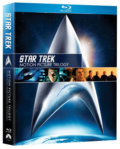 Star Trek - The Motion Picture Trilogy (BLU-RAY)