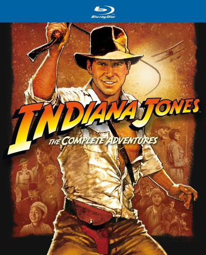 Indiana Jones - The Complete Adventures (BLU-RAY)