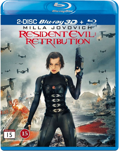 Resident Evil - Retribution (Blu-ray 3D + Blu-ray)