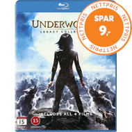 Produktbilde for Underworld - The Legacy Collection (DK-import) (BLU-RAY)