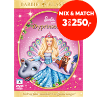 Produktbilde for Barbie Som Øyprinsessen (DVD)