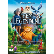 De Fem Legendene (DVD)