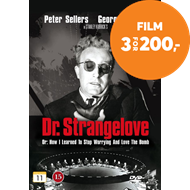 Produktbilde for Dr. Strangelove - Or: How I Learned To Stop Worrying And Love The Bomb (DVD)