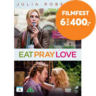 Produktbilde for Eat Pray Love - Spis Elsk Lev (DVD)