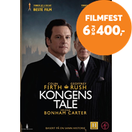 Produktbilde for Kongens Tale (DVD)