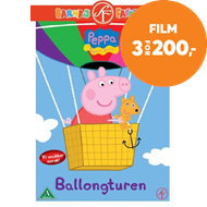 Peppa Gris - Ballongturen (DVD)