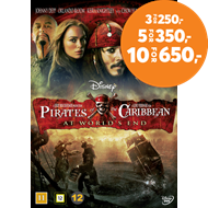 Produktbilde for Pirates Of The Caribbean - At World's End (DVD)