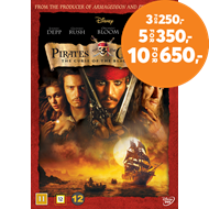 Produktbilde for Pirates Of The Caribbean - The Curse Of The Black Pearl (DVD)