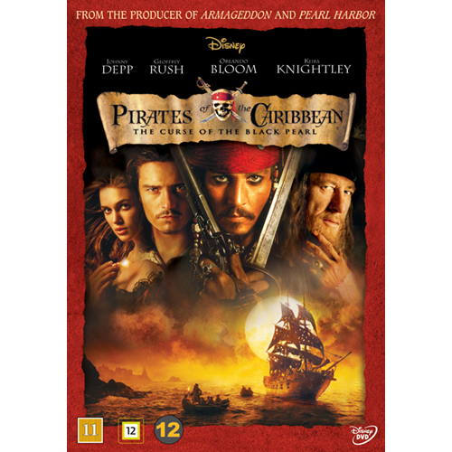 Pirates Of The Caribbean - The Curse Of The Black Pearl (DVD)