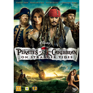 Pirates Of The Caribbean - On Stranger Tides (DVD)
