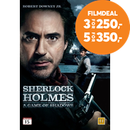 Produktbilde for Sherlock Holmes - A Game Of Shadows (DVD)