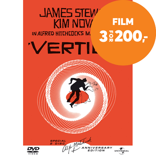 Vertigo - 50th Anniversary Edition (DVD)