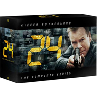 24 - Sesong 1 - 8 + Redemption (DVD)