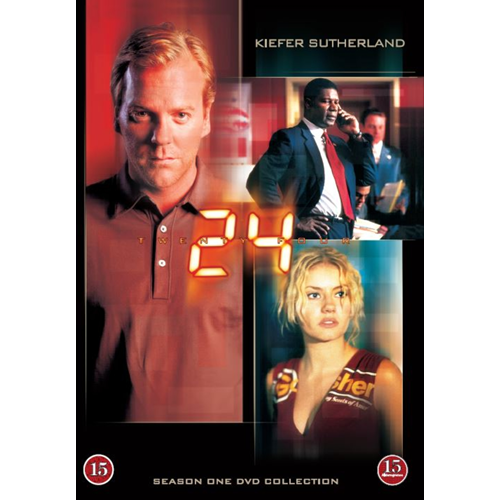 24 - Sesong 1 (DVD)