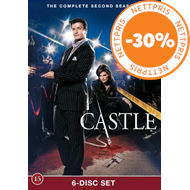 Produktbilde for Castle - Sesong 2 (DVD)