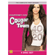 Cougar Town - Sesong 1 (DK-import) (DVD)
