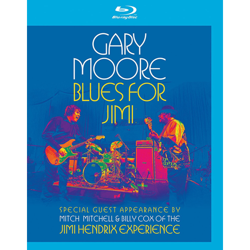 Gary Moore - Blues For Jimi (UK-import) (BLU-RAY)