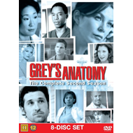 Grey's Anatomy - Sesong 2 (DVD)