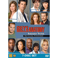 Grey's Anatomy - Sesong 3 (UK-import) (DVD)